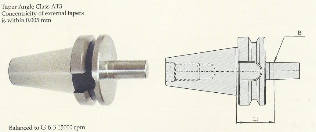 BT30 Drill Chuck Arbor