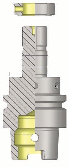 HSK-C 50 Precision Grinding Wheel Arbor For SCHUTTER (205 Sereis) Tool & Cutter Grinding Machine