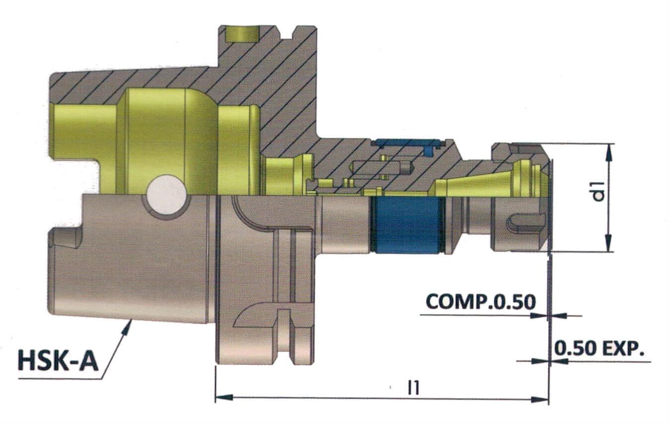 HSK-A 63 MLC