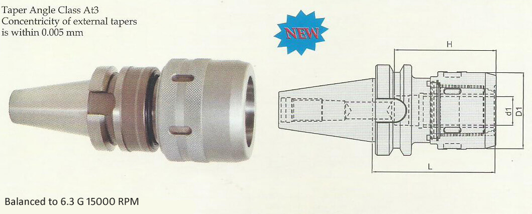 BT30 Power Milling Chuck