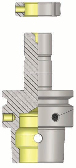 HSK-E 50 Precision Grinding Wheel Arbor For REINECKER Tool & Cutter Grinding Machine