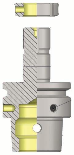 HSK-E 50 Precision Grinding Wheel Arbor For SCHUTTE (305 Sereis) Tool & Cutter Grinding Machine