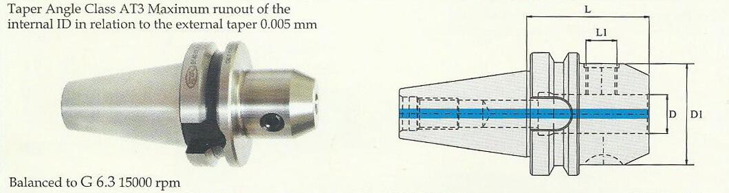 BT50 Weldon Type Holder (DIN 6359)