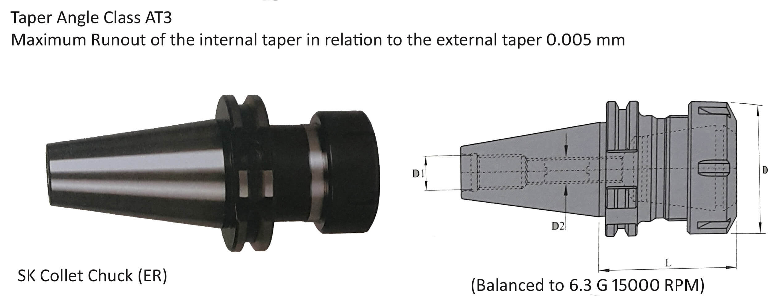 CAT50 Collet Chuck