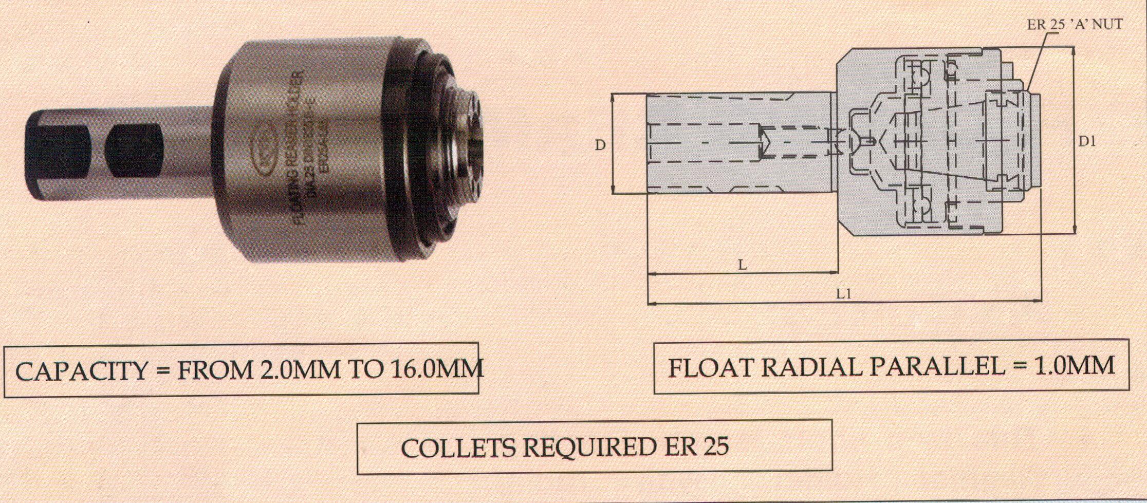 Floating Reamer Holder (FRH)